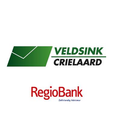 Socialmedia Logo met Regiobank_Veldsink Crielaard